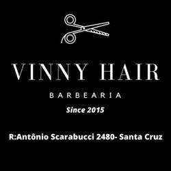 Vinny Hair Barbearia, Rua Antônio Scarabucci, nº 248, bairro Santa Cruz, 14403-459, Franca