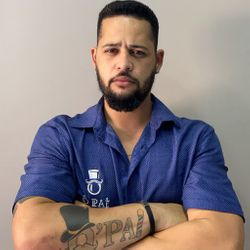 Rafael Alves - Barbearia Ô pai, Unidade Santa Luzia