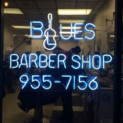 Ricothebarber @blues barbershop, 1376 E 53rd St, Store front, Chicago, 60615