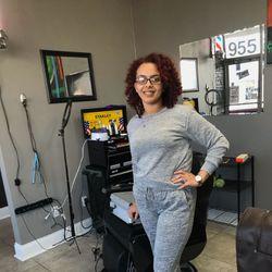 Keisha Myers - Shop 25Eighh Barbershop