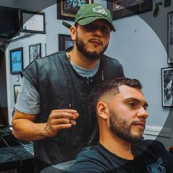 Danny SanMiguel At (Shea's Barbers), 243 Elm St, Westfield, MA, 01085