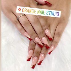 Celine - Orange nail studio