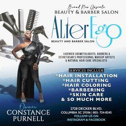 AlterEgo Salon upscale beauty&barber, 2728 Decker Blvd, Arcadia Lakes, 29206