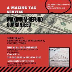 Amazing Tax Service, Glenwood blvd, Schenectady, 12309