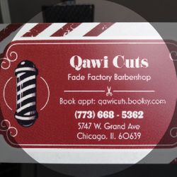Fade Factory Barber Shop, 5747 W. Grand Ave, Chicago, 60639