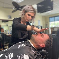 Natasha Perry - One Stop Barber Shop Raeford N.C.