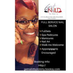 Get Nail'd By Kimmy, 3121 W Jefferson Street, Joliet, 60435