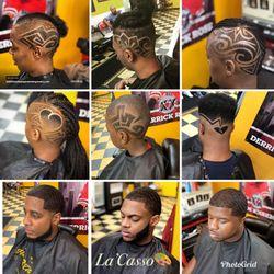 "Lawrence ""La'Casso""  @ Legacy Barber Shop, 1546 W Howard St, Business, Chicago, 60626"