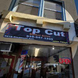 TOP CUT BARBER SALON, 3818 Piedmont Ave, Oakland, 94611
