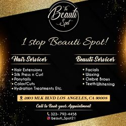 THE BEAUTI SPOT, 2603 Martin Luther King Jr. Blvd, Los Angeles, 90008