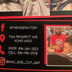 Dorin Thomas @ The Fade Factory, 7146 Prospect Ave, Kansas City, 64132