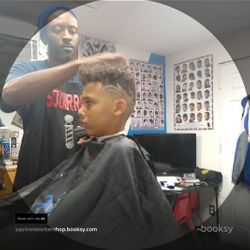 Squirrel The Barber,Silky Smooth Barbershop, 10830 Pendleton Pike, Suite C, Indianapolis, 46236