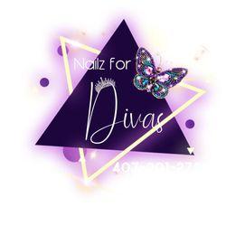 Nailz For Divas, 3831 W. Vine St. Kissimmee, FL 34741, Located at Plaza Del Sol Sana's Beauty Cafe, Kissimmee, 34741