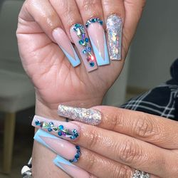 Nails By Javel, 6644 Old Winter Garden Road, Inside Queen Of Bling, Orlando, 32835