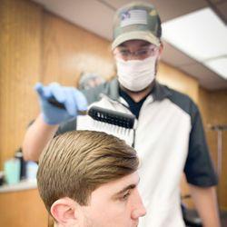 Mike Fleece - Teck's Barber Shop