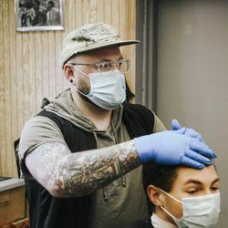 Nick Kitsos - Teck's Barber Shop