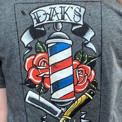 Dak's Barber Shop, Columbus Ave, 1052, Marysville, 43040