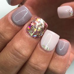 Blue Nails at Poetic Nails Salon, 34 oak st., Indian Orchard, Indian Orchard 01151