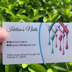 Idelisa's Nails, 7350 Futures dr  #14, Suite 107, Orlando, 32819