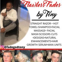 Flawless Fades by Tony, 1431 E Hyde park Blvd, Chicago, 60615