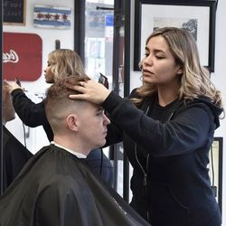 Leena the Barber, W Fullerton Ave, Please text for location, Chicago, 60639