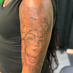 Roll-N-Stone Tattoo(Jasper), Randleman Rd, 3027, A, Greensboro, 27406