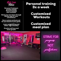 Mali Love Fitness, Acton Rd, 9, Door 9 west back parking lot, Chelmsford, 01824