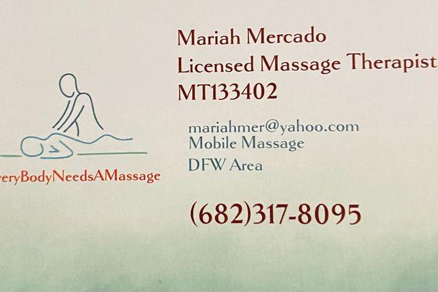 Fort worth massage mobile V.I.P. Mobile