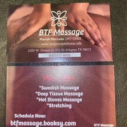 BTF Massage, 2205 W. Division St STE B5, Arlington, 76012