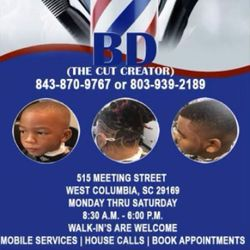 BD The Cut Creator, 515 Meeting St, West Columbia, 29169