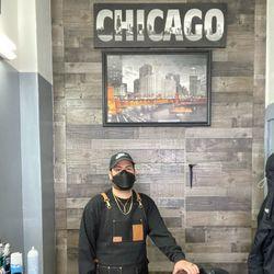 GONZO at Premier Barbershop, 5025 West Belmont Avenue, Chicago, IL, 60641