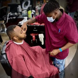 Coldscout The Barber, 9750 S Texas 6, Hair Tyme Beauty Lounge, Sugar Land, 77498