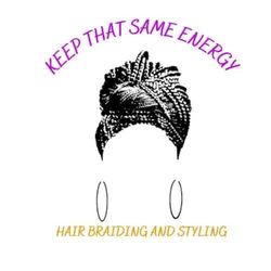 Keep That Same Energy Hair Styling, Johnson St, 1329, South Bend, 46628