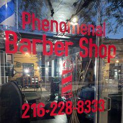 Mz. Excluzive featured at Phenomenal Barber Shop, 11827 Detroit, Lakewood, 44107