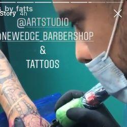 Tattoos by Marwin - New Edge Barbershop & Tattoos