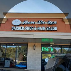 Tony THE Barber At Above The Rest Barbershop, 818 East Louetta Road, Spring, 77373