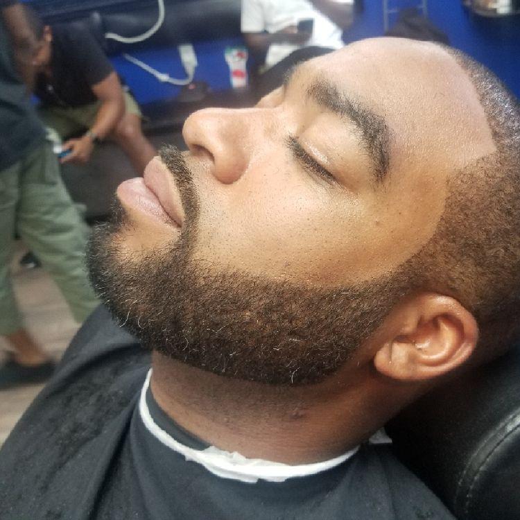 Brushcut with beard Haircut by Miz/Mike