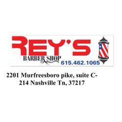 Rey's Barber Shop, 2201 Murfreesboro pike, Suite c-214, Nashville, 37217