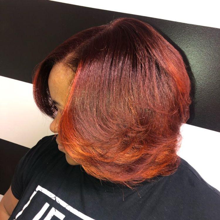 Custom Color//Natural Hair
