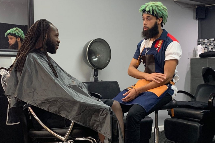 Ayrus with the Dreads