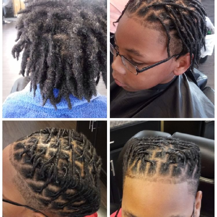 After not having a retwist in 4 months, my lil friend is back in the game!  #lovinthetransformation  #icanbringyouback #loclovin #locsonlock1