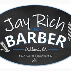Jay Rich the Barber of Sharp & Debonair, 1462 High St., B, Oakland, 94601