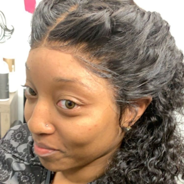 Frontal sew in