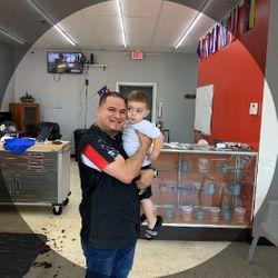 Barber Bori / Men's Room Barber Shop, 575 Hanna Ave, Unit 115, Indianapolis, 46227