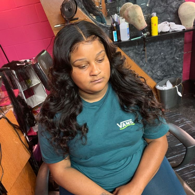 Frontal Quickweave Install