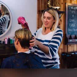 Shannon Healey - The Ave Barbershop and Salon