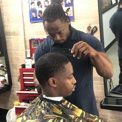 Byron.     Gezzy Da Barber - Headquarters Barber Lounge