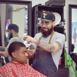 Nick B - Black And White Barbershop