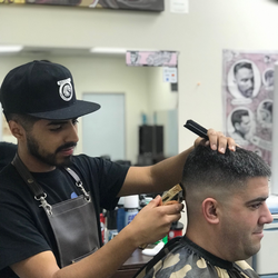 Edgar - Moores barbershop historic 25th st.