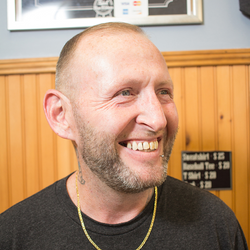 Ray Bailey - CLINTONVILLE- Santarelli's Barbershop